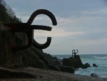 Esculturas frente al mar, Peine del Viento