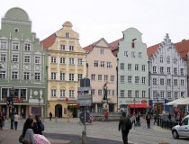 Augsburgo, conociendo la antigüedad en Alemania
