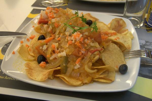 El bacalao es uno de los platos más comunes de la cocina portuguesa