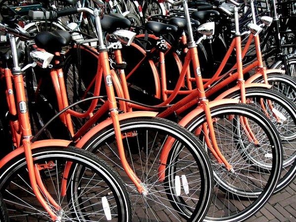 Bicicletas para alquiler en Amsterdam