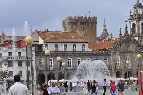 Vistas del centro de Braga
