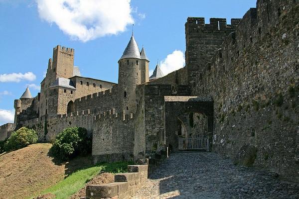 Ciudad fortificada medieval