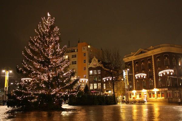 Holanda es uno de los primeros países de Europa en celebrar la Navidad
