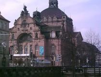 El espectáculo teatral en la ciudad de Nuremberg