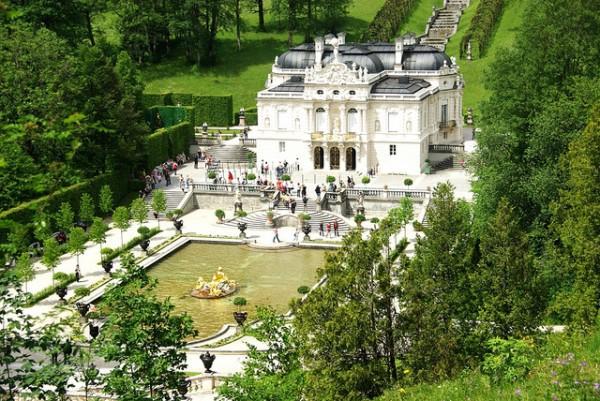 El Palacio de Linderhof en Baviera