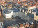 La Plaza Burg, la más bonita de Brujas