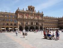 Plaza Mayor de Salamanca, una de las más bellas de España
