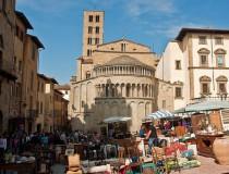 Arezzo, ciudad medieval