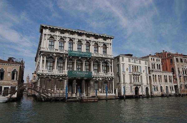 Antiguo palacio que alberga un museo conobras del Settecento Veneciano