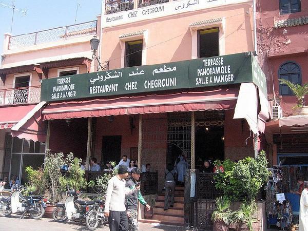 En plena plaza Jamaa el Fna y a buenos precios