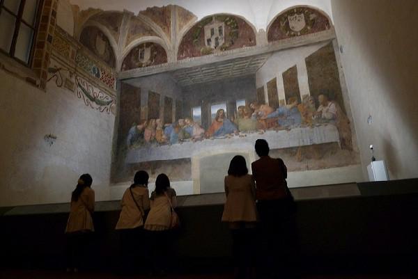 Se encuentra en el refrectorio de la iglesia Santa Maria delle Grazie