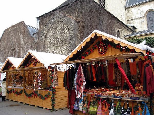 Mercados navideños en París