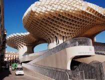 Metropol Parasol, mirador que rompe con el estilo del casco antiguo de Sevilla
