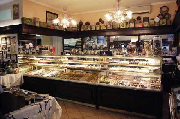 Una de las pastelerías más conocidas de Milán