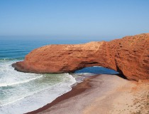 Legzira, la Playa de los Arcos