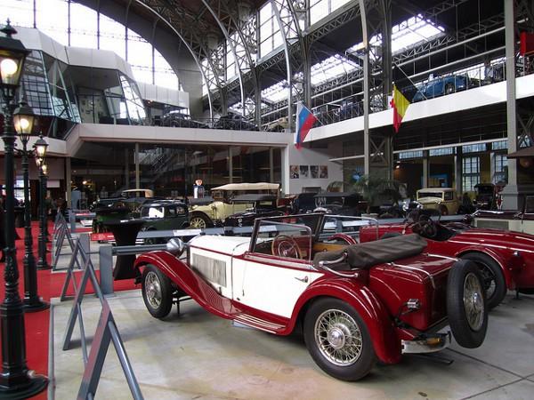 El Museo del Automóvl de Bruselas