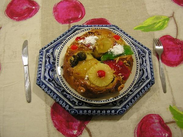 Bolo do Rei, un dulce típico de la Navidad portuguesa