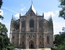 La Catedral de Santa Bárbara, en Kutná Hora