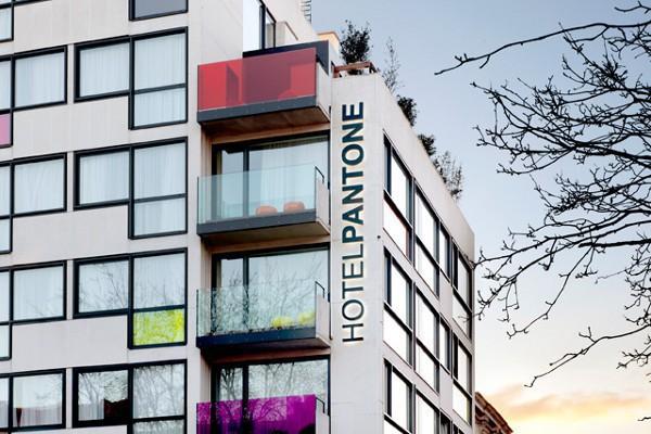 Pantone Hotel, el hotel más colorido de Bruselas