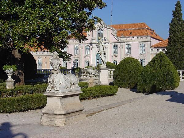 La Pousada de Queluz, alojamiento en un palacio histórico de Lisboa