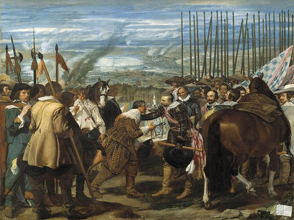 La rendición de Breda, uno de los cuadros más famosos de Velázquez