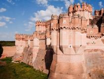 Castillo de Coca, muestra del estilo gótico-mudéjar