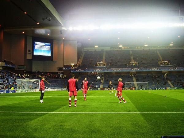 Partido de futbol escoces