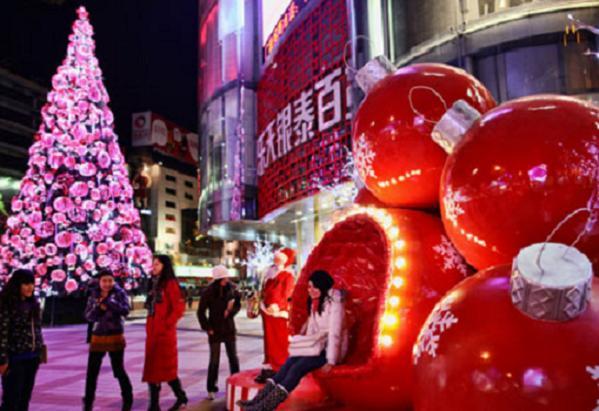 En Pekín también se puede celebrar la Navidad