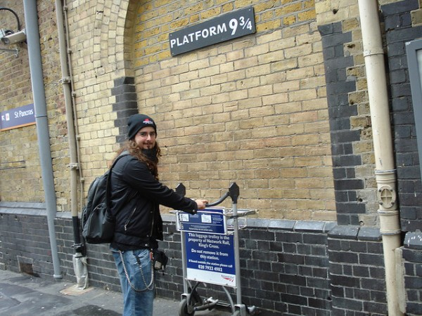 Plataforma 9 3/4 Harry Potter