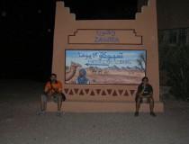 Zagora, en el valle del Draa y frente a la montaña que le dio nombre