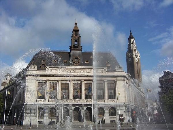 Plaza de Charles II, en Charleroi