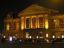 Concertgebouw, el palacio de la música en Amsterdam