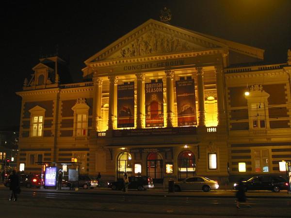 La Sala de Conciertos de Amsterdam, el Concertgebouw