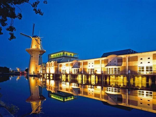 Destilería de Nolet's Gin en Schiedam, Holanda