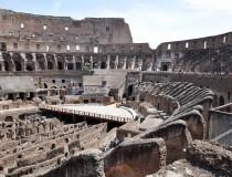 Trabajos de restauración en el Coliseo descubren firmas e inscripciones de los espectadores