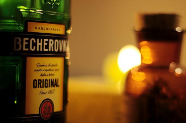 Becherovka, un famoso y típico licor checo