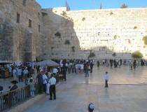 El Muro de las Lamentaciones, histórico lugar sagrado