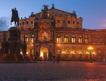 El Baile de la Ópera Semper en Dresde