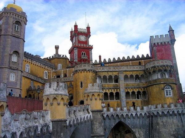 Palacio da Pena, residencia de verano de los Reyes de Portugal