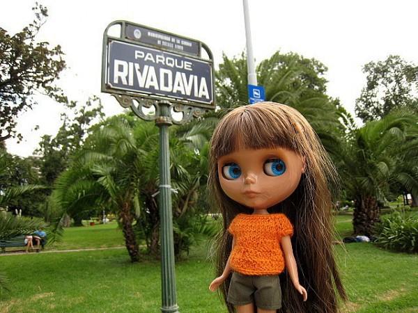 Paisaje del Parque Rivadavia