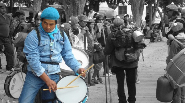Imagen de la peregrinacion en Jujuy