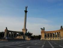 La Plaza de los Héroes en Budapest