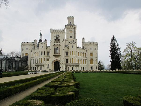 El Castillo de Hluboká