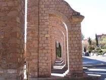 Zacatecas, acueducto y observatorio meteorológico