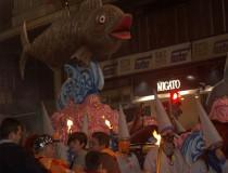 El Entierro de la Sardina en la Fiesta de la Primavera de Murcia
