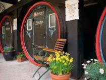 Hotel Lindenwirt en Rüdesheim, como dormir en un barril de vino
