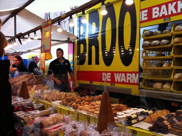 Los holandeses comen mucho pan tanto en el desayuno como en el almuerzo