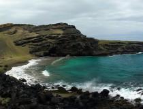 Papakolea Beach, una preciosa playa de Hawaii