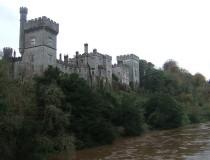 El Castillo de Lismore en el condado de Waterford
