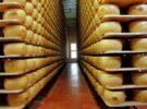 El queso parmesano, el más famoso del mundo